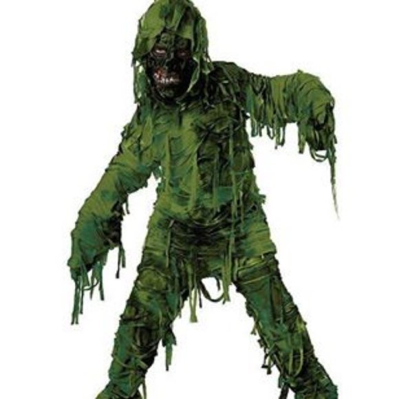 Swamp Monster Child Halloween Dress-Up COSTUME